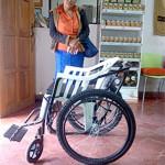 Auner Antony Bardales Varela Donación de silla de ruedas